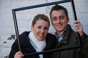 Couple Framed