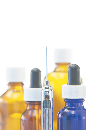 medicines&syringe