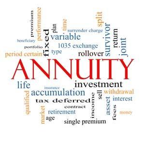 analysis majority of annuity premium used to create guaranteed