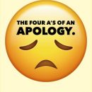 The Four A's of An Apology
